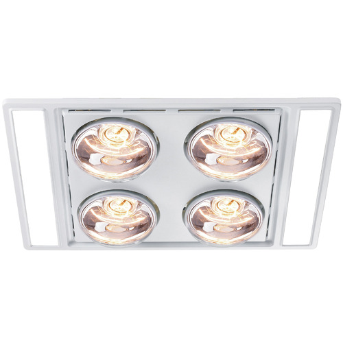 Heller Bathroom Exhaust Fan With Led Duck Kit Temple Webster
