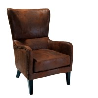 Genoa Rustic Armchair | Temple & Webster