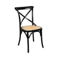 Temple & Webster Bella Cross Back Dining Chair & Reviews