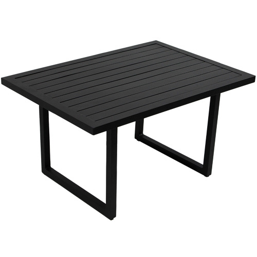 black randgris outdoor aluminium coffee table