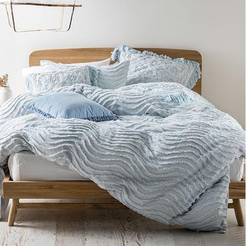 Linen House Drift Soft Blue Quilt Cover Set  Reviews