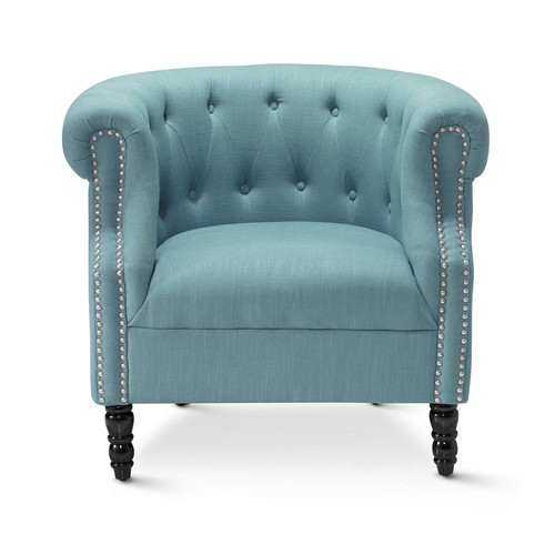 bedroom chair melbourne round table 6 chairs dimensions hyde park home teal madeline tub & reviews | temple webster