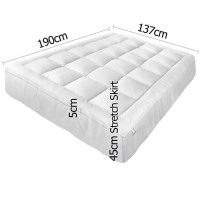 DwellLifestyle Pillowtop Mattress Topper & Reviews ...
