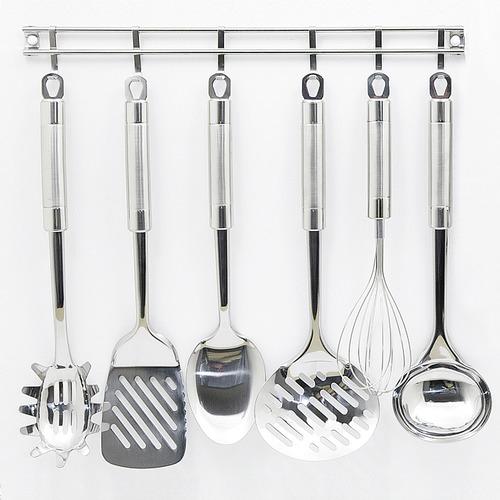 exquisite kitchen utensils hanging rack set