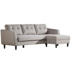 Victoria Clic Clac Sofa Bed Review Twin Sleeper Beds Temple Webster 3 Seater Kym With Chaise