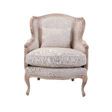 french provincial adele occasional chair vinyl repair chairs | accent, lounge & arm