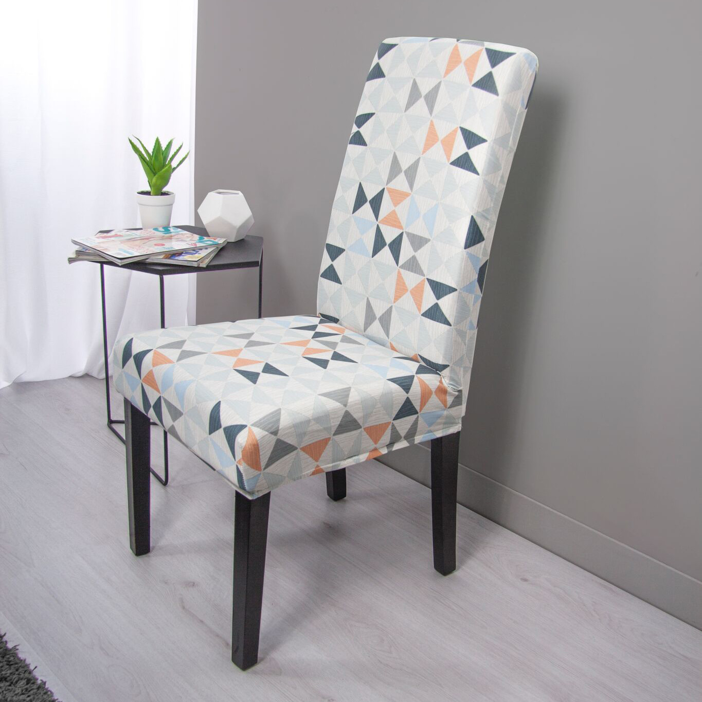 Surefit Chair Covers Surefit Statement Print Hugo Dining Chair Cover