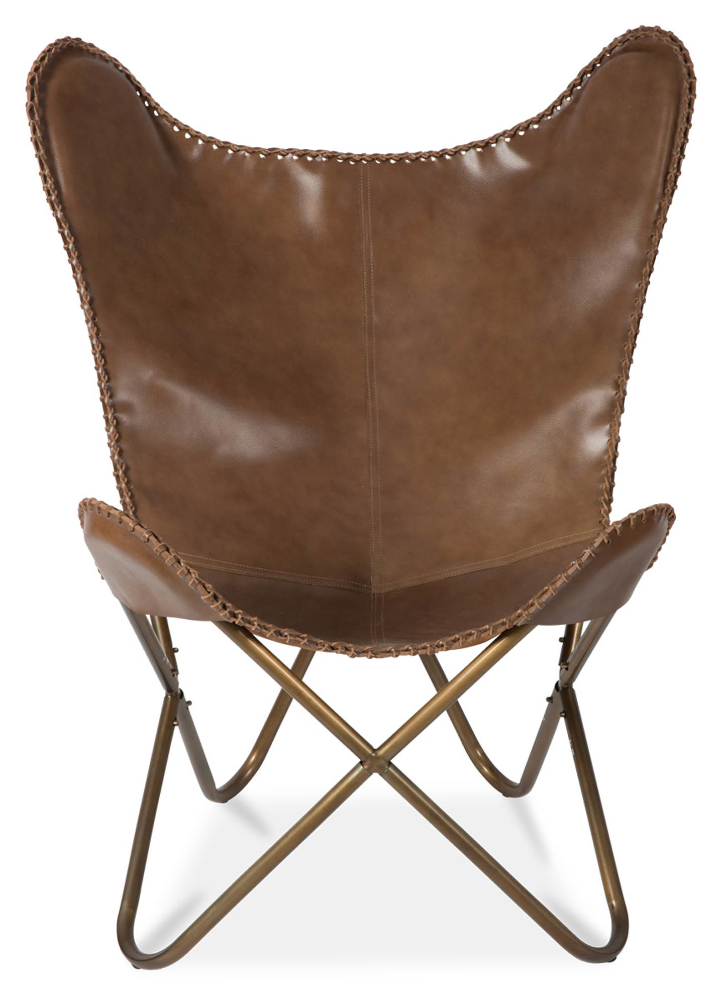 NEW Leather Butterfly Chair  eBay