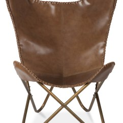 Leather Chair Covers Ebay Posture New Butterfly