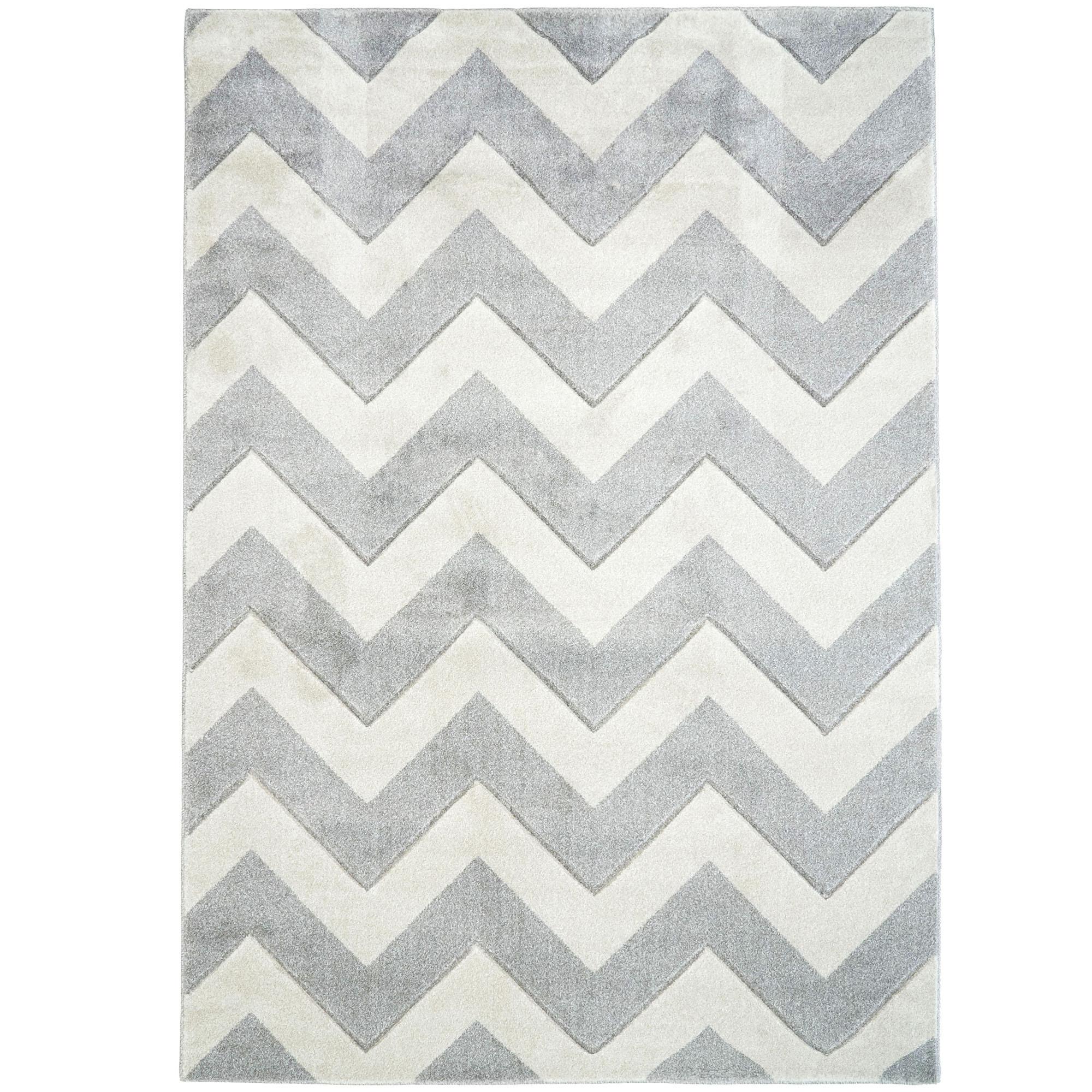 Atlas Flooring Grey Off White Plaza Modern Chevron Rug Reviews Temple Webster