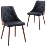 Rowland Archibald Sarah Faux Leather Dining Chair Reviews Temple Webster