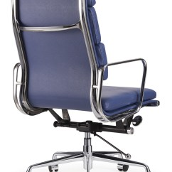 Eames Management Chair Replica Metal Chairs Target New Premium High Back Soft Pad