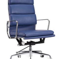 Eames Management Chair Replica Amazon Dining Covers Black New Premium High Back Soft Pad