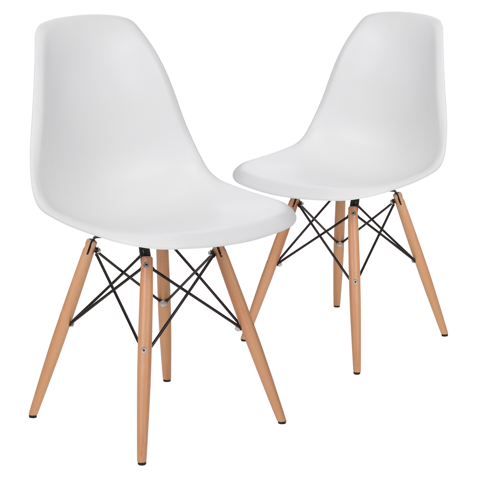 Dsw Chair New Eames Replica Dsw Dining Side Chair Ebay