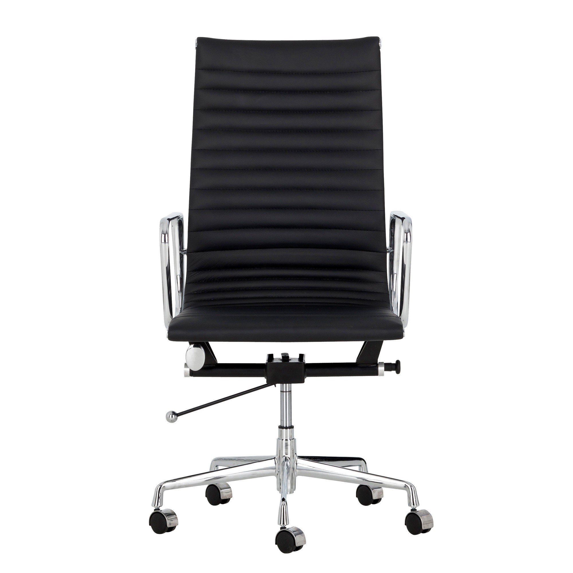 eames management chair replica wooden spool new high back office ebay