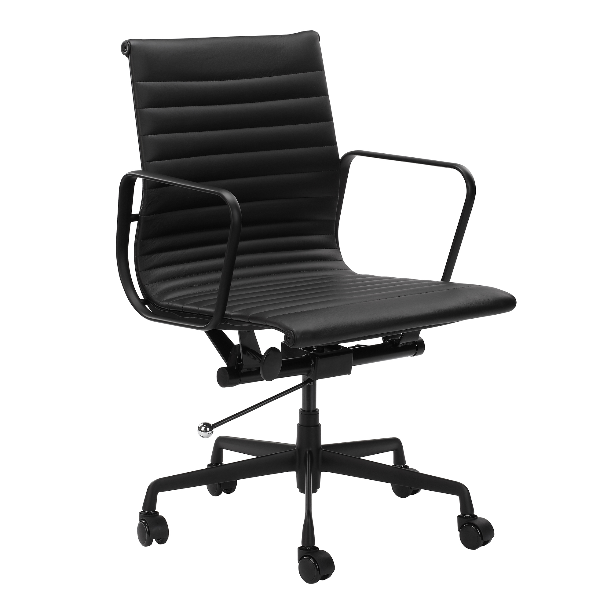 Eames Desk Chair Deluxe Leather Eames Replica Management Office Chair
