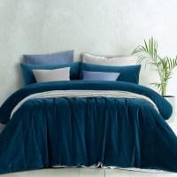 Blue Velvet Duvet Cover - Sweetgalas