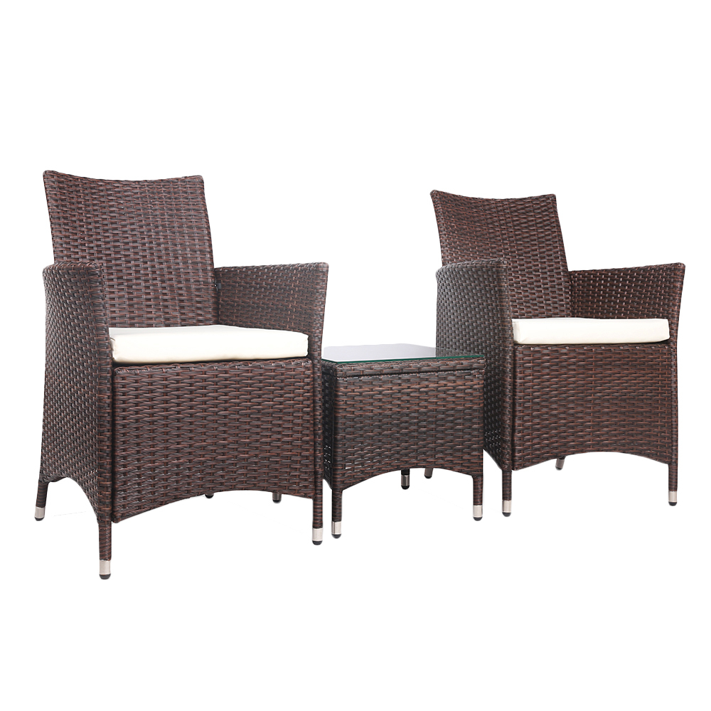 Outdoor Chair Set 2 Seater Outdoor Chair Coffee Table Set