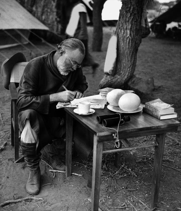Ernest Hemingway Der Schriftsteller als Growildjger  ZEIT ONLINE