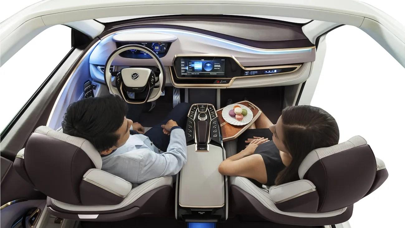 Autonomes Fahren Stellen Sie Ihre Sitze senkrecht  ZEIT
