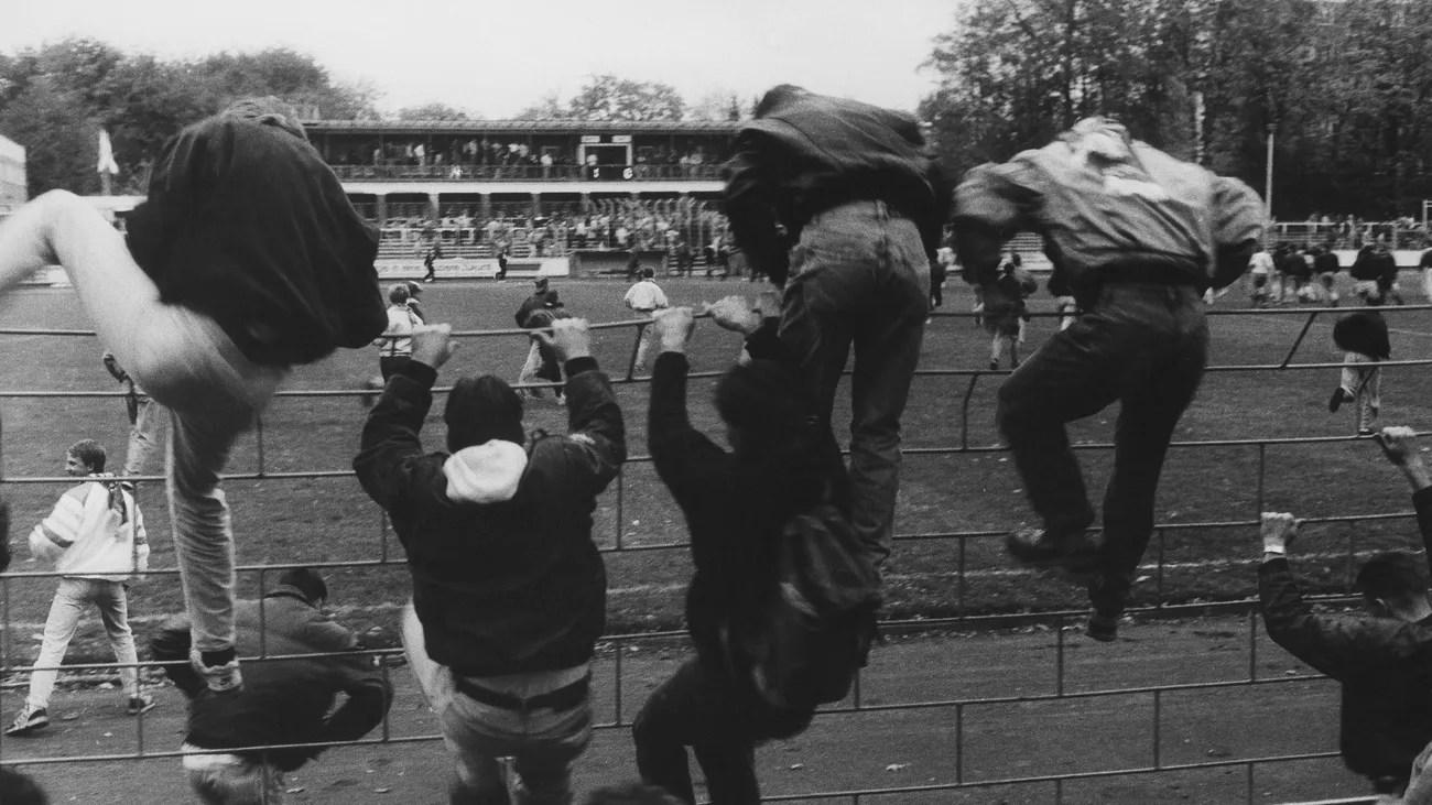 Hooligans in der DDR Danach zogen wir brandschatzend