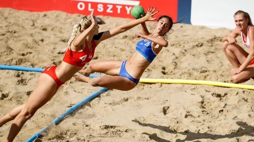 Beachhandball Tore nach einer Pirouette zhlen doppelt  ZEIT ONLINE