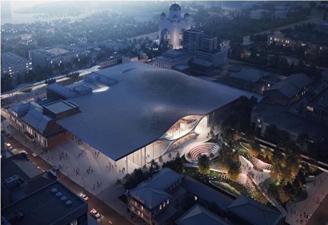 Концепция нового здания свердловской филармонии