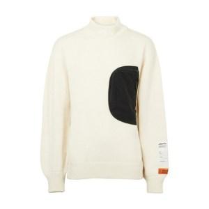 Mock-Pocket sweater