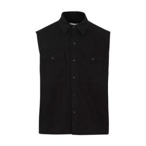 Sleeveless overshirt