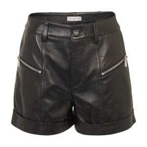 Lia leather shorts