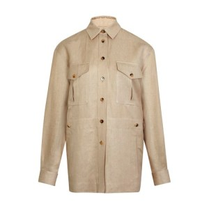 Linen Flower jacket
