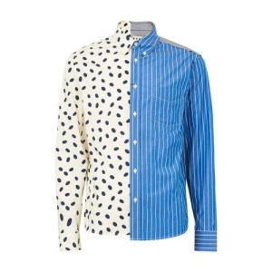 Mix patterns shirt