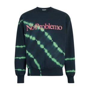 Tie-dye No Problemo sweatshirt