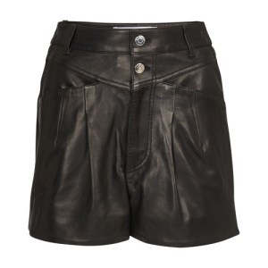 Harald leather shorts