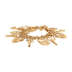 Charming Key bracelet