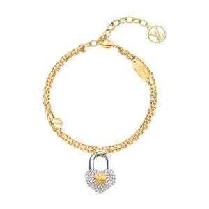 Crazy In Lock Strass Supple Bracelet