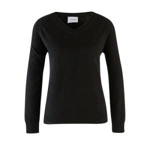 Catherine Night v-neck cashmere jumper