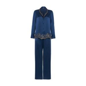 Silk Pyjamas with Frastaglio