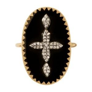 Bowie n°3 ring black diamond
