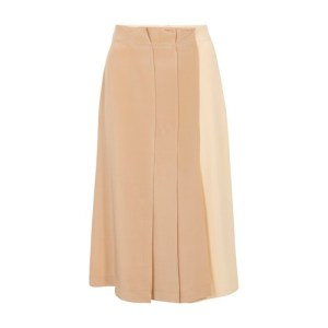 Torre silk skirt