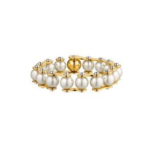 LV Speedy Pearls One-Rank Bracelet
