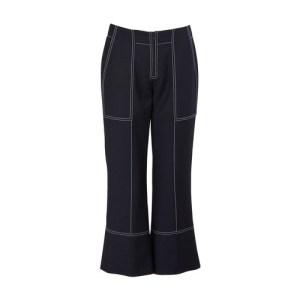Cotton cropped pants