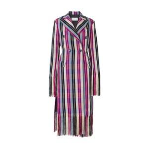 Yaba long fringed coat