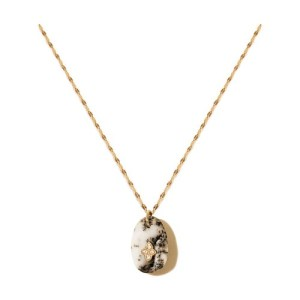 Gaia n°1 necklace agate