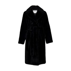 Faustine belted coat