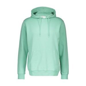 Organic cotton hooded sweatshirt