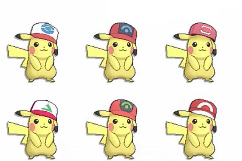 Pikachu Ash Pokémon Sol Luna