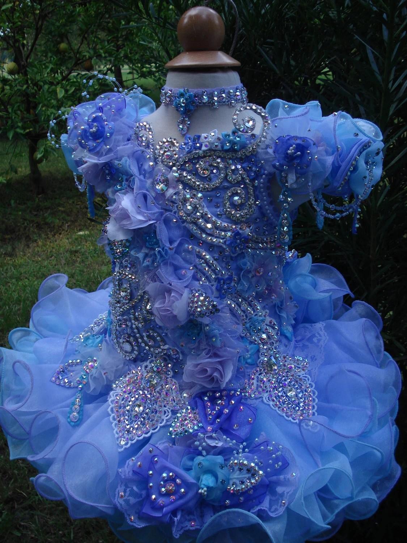 National Glitz Pageant Dress Custom Order by Nana Marie Designs
