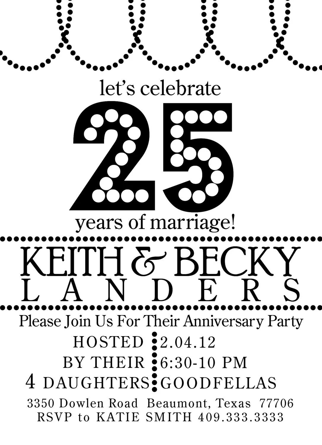 1000+ images about 25th Wedding Anniversary party ideas on