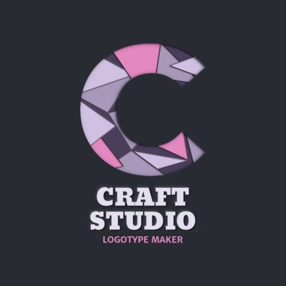 Arts Crafts Logo Maker Online Logo Maker Placeit
